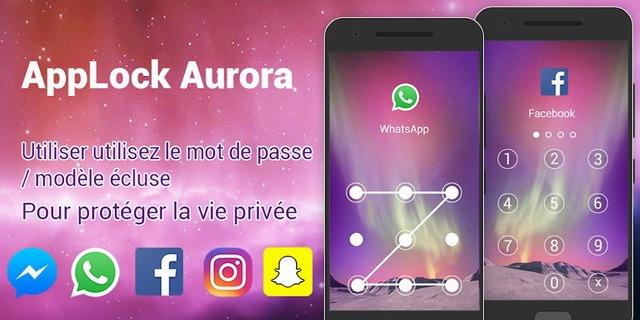 AppLock Aurora - aplicación de bloqueo