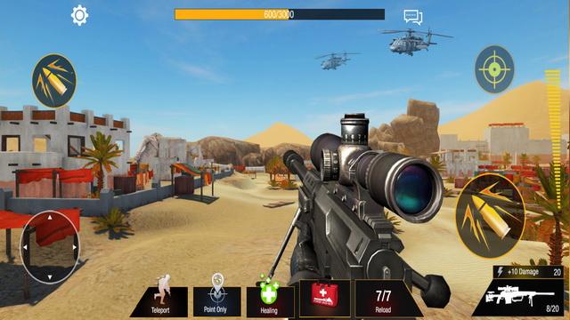Bullet Strike: Campo de batalla