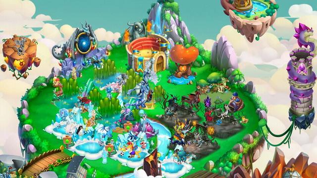 Dragon City Mobile - Mejor juego de rol