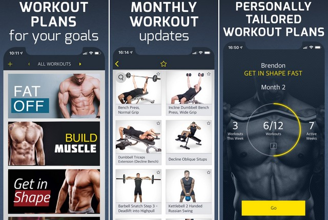 Entrenamiento - la mejor aplicación para el fitness