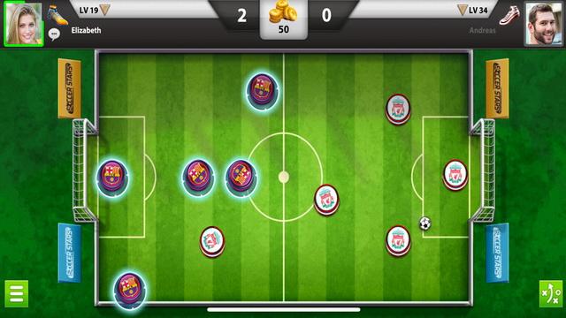 Estrellas de fútbol