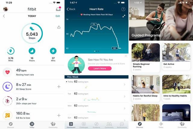 Fitbit - Aplicación de seguimiento del sueño