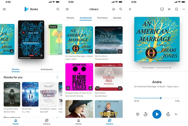 Libros de Google Play