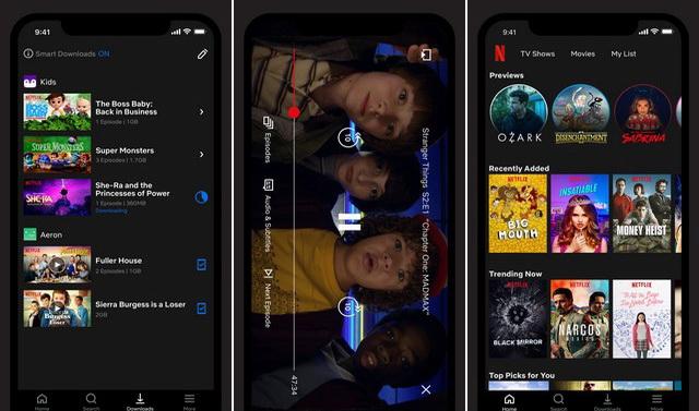 Netflix - Aplicación para ver películas