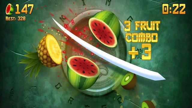 Ninja de la fruta