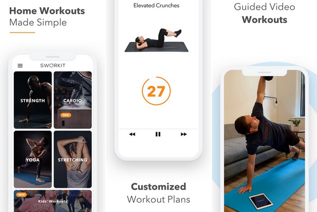 Sworkit - Programas de fitness