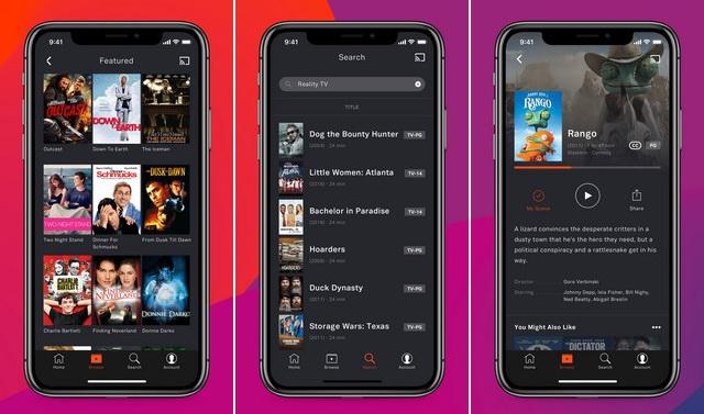 Tubi - Aplicación para ver películas