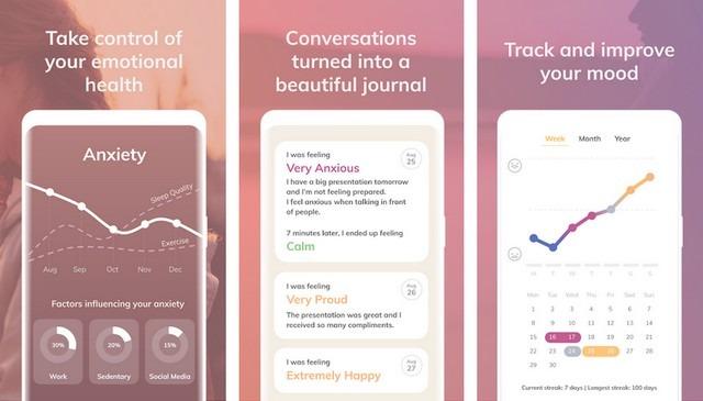 Youper - aplicación para la salud mental